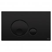Кнопка Globe Soft-touch 3/6 черная