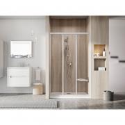 Душевая дверь ASDP 3-120 Transparent+сатин