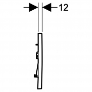 Кнопка Sigma 30 чорна