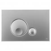 Кнопка Globe 3/6 матовый хром