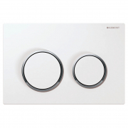 Кнопка Omega 20 біла