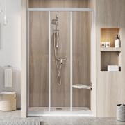 Душевая дверь ASDP 3-100 Transparent+сатин