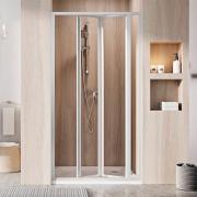 Душові двері SDZ 3-80 Transparent+білий