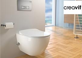 Дизайнерская сантехника Creavit