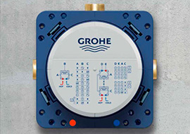 Уникальные технологии от Grohe