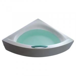 Акриловая ванна Play 160 с ножками, панелью и белой ручкой