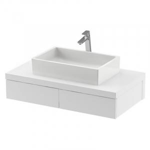 Шкафчик для раковины SD Formy 100 белый