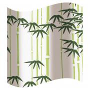 Шторка для ванной, зеленая