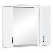 Зеркало Ассоль 100 см, белое