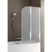 Шторка на ванну Modern 2, правая, хром