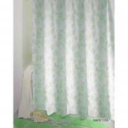 Шторка для ванной Mariposa зеленая