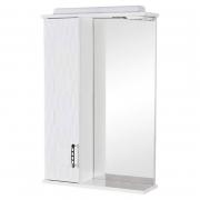 Зеркало Ассоль 55 см, белое