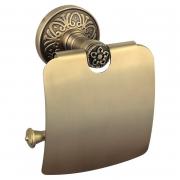 Держатель для бумаги закрытый Милано бронза