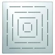 Верхний душ Maze квадратный, хром