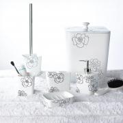 Дозатор Diamond для жидкого мыла белый