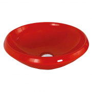 Раковина Mono 45 накладная, красная
