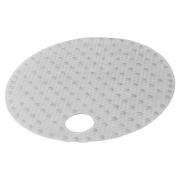 Коврик круглый Lense, прозрачный