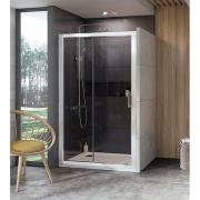Душевая дверь 10° 10DP2 120 Transparent+белый