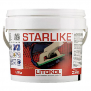 Затирка Starlike C.470/2,5 экстра белый